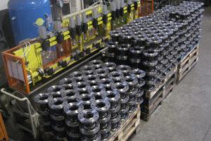 Produzione in acciaio tronchetti flangiati