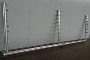 colletore accaio inox contatori acqua potabile