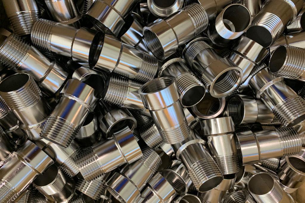 Raccordi-in-acciaio-inox-Prolunghe acciaio inox per contatori acqua potabile