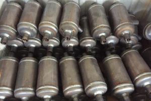 Produzione vasi defangatori acciaio al carbonio