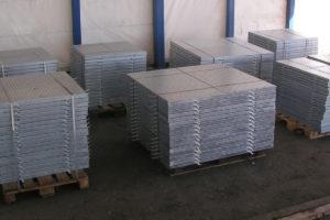 Chiusini in lamiera zincata per pozzetti contatori acqua