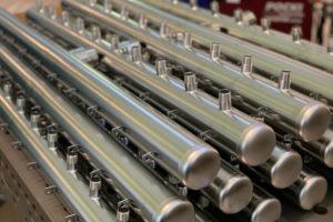 Elettrolucidatura collettori acciaio inox contatori acqua potabile