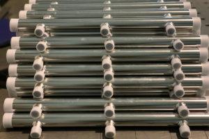 Collettori in acciaio inox elettrolucidati