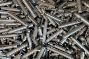Collettori in acciaio inox - Produzione